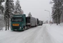 Flota Scandinavian podczas zimy