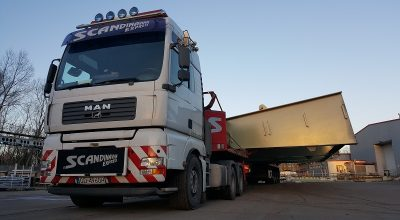The widest oversize load in Poland